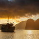View of cruise ships and islands in Halong Bay, Vietnam - PhotoDune Item for Sale