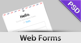PSD Web Forms