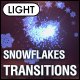 Christmas Snowflakes Transitions Vol.1 - Light - VideoHive Item for Sale