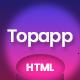 Topapp - App Landing Page