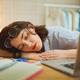 Woman is sleeping at workshop - PhotoDune Item for Sale