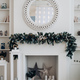 Beautiful fireplace with mirror and fur branches - PhotoDune Item for Sale