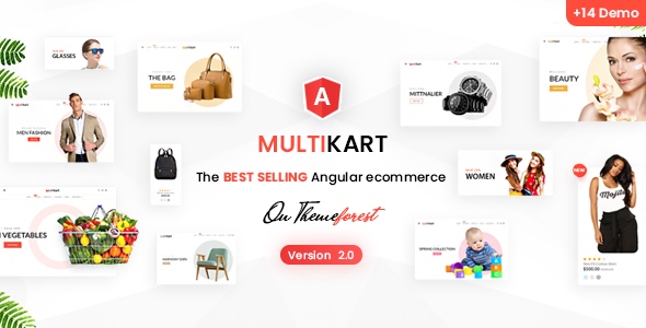 Multikart - Responsive Angular 9 eCommerce Template