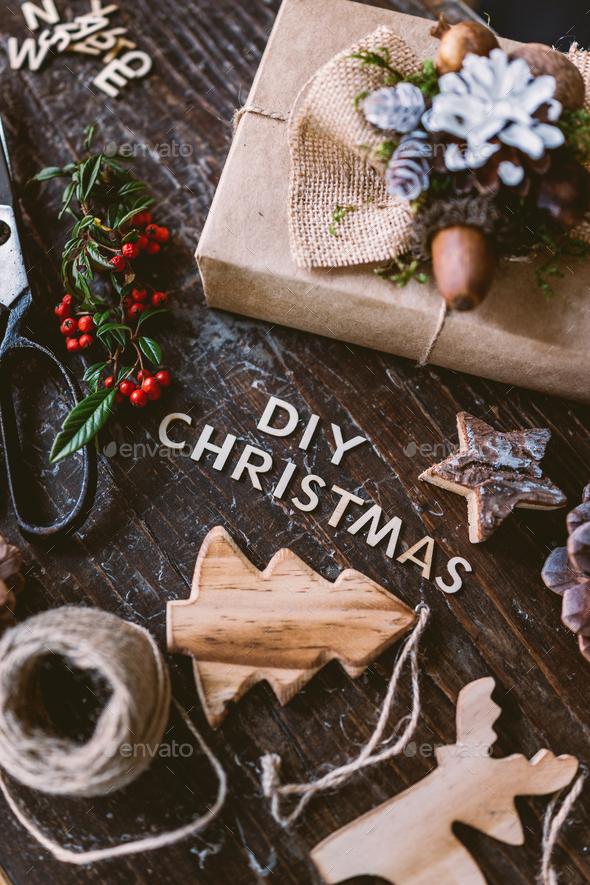 Diy Christmas - Stock Photo - Images