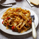 Pasta with eggplant and tomatoes - PhotoDune Item for Sale