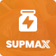 Supmax - Health Supplement Landing Page