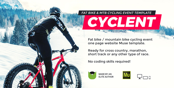 Cyclent – Mountain Bike Event Template