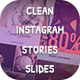 Clean Instagram Stories Slides - VideoHive Item for Sale