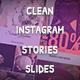 Clean Instagram Stories Slides - VideoHive Item for Sale