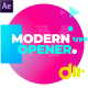 Modern Gradient Typography Opener - VideoHive Item for Sale