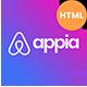 Appia - App Landing Page
