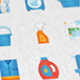 Cleaning & Washing Modern Flat Animated Icons - VideoHive Item for Sale