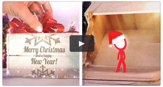 Christmas - New Year Holidays MOTION GRAPHICS and STOCKS