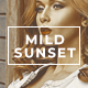 Mild Sunset - Photo Effect Action