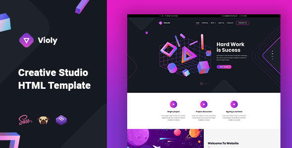 Violy - Creative Studio HTML Template by astroon
