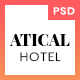 Atical - Hotel PSD Template