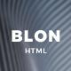 Blon - Personal Portfolio Template