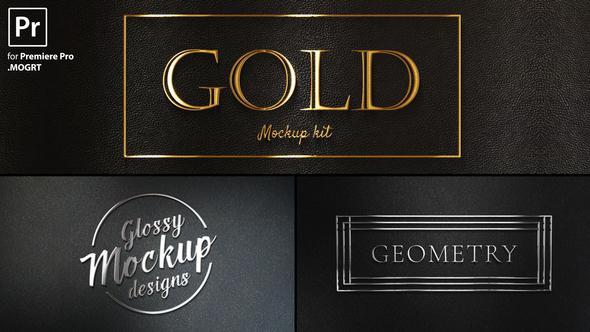 Gold Titles Kit