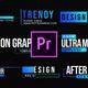 Ultra Modern Titles-MOGRT - VideoHive Item for Sale