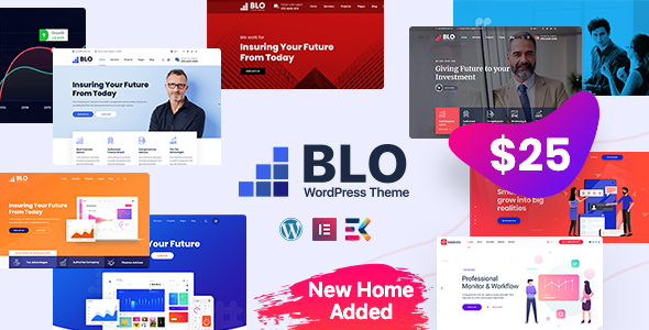 Excellent BLO - Corporate Business WordPress Theme