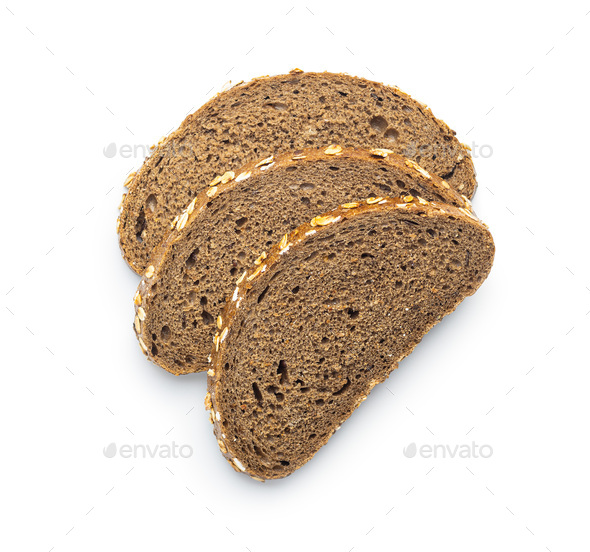 Sliced wholegrain bread. - Stock Photo - Images