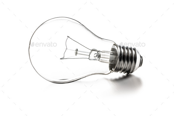 Classic light bulb - Stock Photo - Images