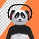 Panda Bear - Hands Up And Waving Hello (6-Pack) - VideoHive Item for Sale