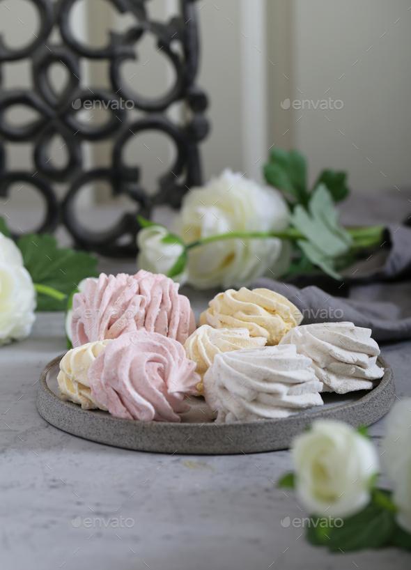 Homemade Fruit Marshmallows - Stock Photo - Images