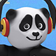 Panda Bear 3d Character - Gangnam Style Dance (3-Pack) - VideoHive Item for Sale