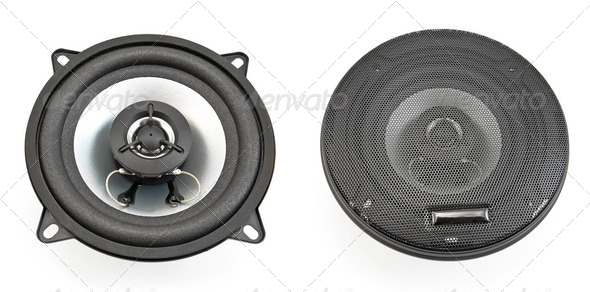 Acoustic speakers - Stock Photo - Images