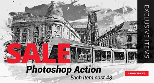 Photoshop action Sale