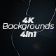 Lines And Particles 4K Backgrounds 4in1 - VideoHive Item for Sale