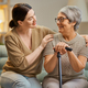 Happy patient and caregiver - PhotoDune Item for Sale