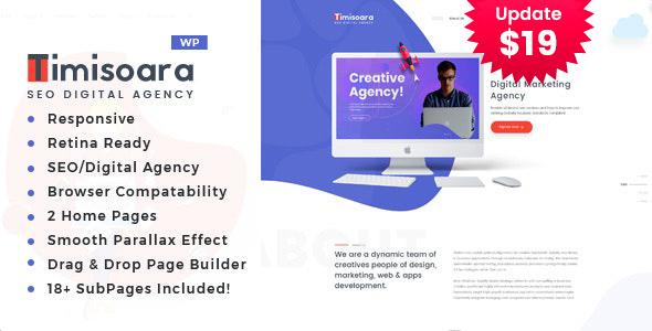 Timisoara - Digital Marketing WordPress Theme