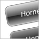 Grayish Rounded Navigations with XHTML/CSS- Vol.5 - GraphicRiver Item for Sale