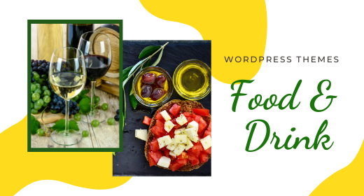 Food & Drink WordPress Themes