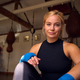Portrait Of Female Boxer With Protective Wraps On Hands Training In Gym - PhotoDune Item for Sale