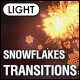 Christmas Snowflakes Transitions Vol.2 - Light - VideoHive Item for Sale