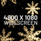 Christmas Snowflakes Gold Background Widescreen - VideoHive Item for Sale