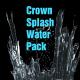 Crown Splash Water Pack 4K - VideoHive Item for Sale