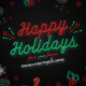 Neon Winter Holiday Titles Pack - VideoHive Item for Sale