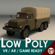 Low Poly Military Truck 01
