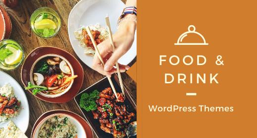 Best Food & Drink WordPress Themes