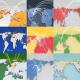 3D World Map Line