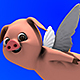 Flying Pig (3-Pack) - VideoHive Item for Sale
