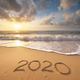 2020 year on the sea shore - PhotoDune Item for Sale