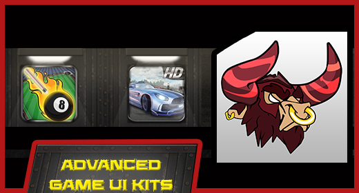 Advanced Game UI Kits