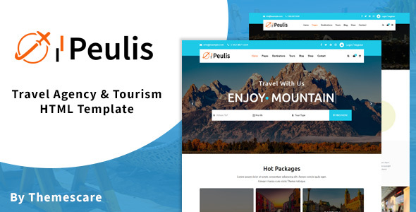 Peulis - Travel Agency & Tourism HTML Template