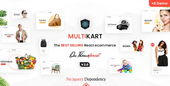 Multikart - React eCommerce Template