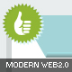 Modern Web 2.0 Elements Package - GraphicRiver Item for Sale